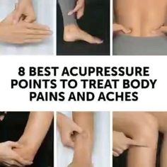 8 Best Acupressure Points To Treat Body Pains And Aches😉 Acupressure Points Chart, Acupressure Therapy, Acupressure Massage, Acupressure Treatment, Cupping Therapy, Massage Therapy, Reflexology Points, Craniosacral Therapy, Point Acupuncture