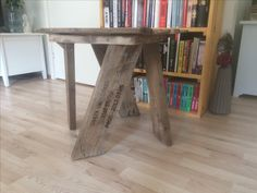 Reclaimed driftwood table