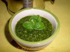 Pesto al basilico,ricetta base