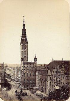 Danzig 1865 Rechtstaedtisches Rathaus