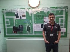 I had a great day recently at Market Drayton Junior School talking about Ghost Stadium.  What a great spooky display!
