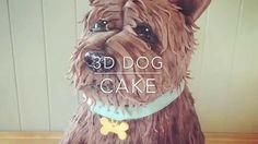 3d Dog Cake - How to Make a Dog Cake