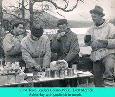 Early  Team Leaders Course Loch Morlich.