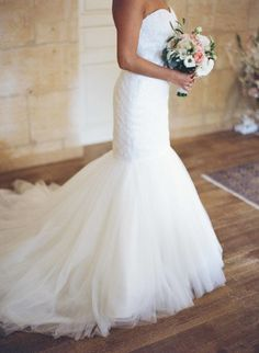 Wedding dress heaven: http://www.stylemepretty.com/little-black-book-blog/2015/02/25/rustic-charm-in-the-south-of-france/ | Photography: Greg Finck - http://www.gregfinck.com/