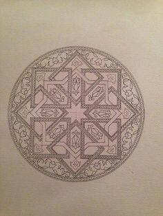 119747c7cf70b6bec7301ff95dfa4353.jpg (720×960) Islamic Motifs, Islamic Art Pattern, Arabic Pattern, Pattern Art, Turkish Pattern, Arabesque Pattern, Art Articles, Islamic Art Calligraphy, Arabic Art