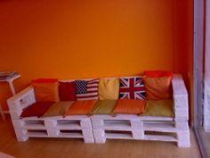 divano pallet ( legno )