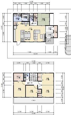 Interior Decorating, Interior Design, Japanese House, House Floor Plans, Layout, House Design, Flooring, How To Plan, Education