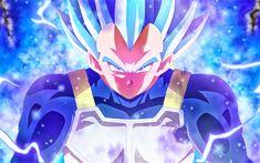 Descargar fondos de pantalla Vegeta, 4k, Dragon Ball Super, el arte, la DBS, retrato, manga, Dragon Ball