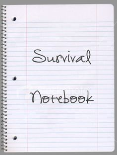 Prepper's Wife: We have a Survival 101 Handbook DO you have one? You do? Great! Oh you don't?  Well I could share my table of contents with you... Oh ok since you don't have one you can peek at our personal table of contents: