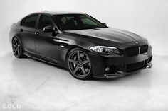 BMW 5-Series... love the all black on this car.