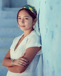 Kathryn Bernardo 🌟 Daniel Padilla, Chefchaouen, Filipina Actress, Kim Yoo Jung, Kathryn Bernardo, Portrait Shots, Up Hairstyles, Asian Beauty, Most Beautiful Pictures