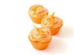 Orange Cream Cupcakes Recipe : Food Network Kitchen : Food Network - FoodNetwork.com