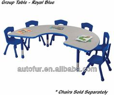 kindergarten furniture Kidney table and chair  used school furniture kindergarten furniture $15~$50  sc 1 st  Pinterest & preschool-round-activity-table-6-chair-package-set-by-marco-group ...