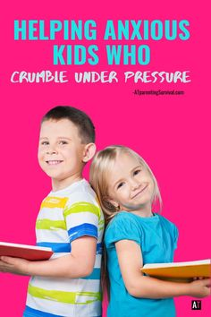 Here are some ways to help anxious children who have a hard time while under pressure. Parenting Advice, Kids And Parenting, Anxiety Coping Skills, Deal With Anxiety, Anxiety In Children, Adhd Kids, Special Needs Kids, Under Pressure, Anxious