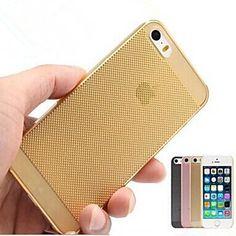 ultrafina caja transparente del silicón para el iphone 5/5s (colores surtidos) – MXN $ 46.57
