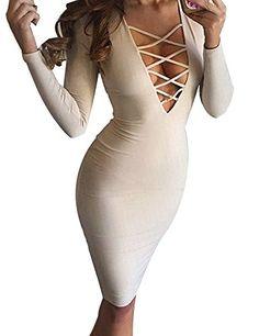 Allegrace Women Sexy Long Sleeve Autu…