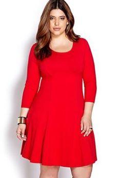 cutethickgirls.com plus size red dresses (23) #plussizedresses