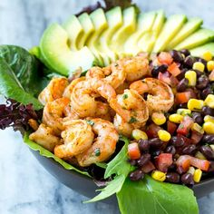 You will love this No-Bake Protein Energy Bites recipe! Super easy to make and theyt taste like a loaded oatmeal chocolate chip cookie. Ranch Chicken Salad Recipe, Shrimp Salad Recipes, Zoodle Recipes, Chicken Recipes, Mexican Shrimp, Mexican Salads, Healthy Homemade Ranch, Protein Energy Bites, High Protein