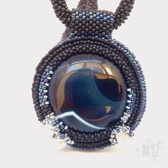 US$36.50 Big round cabochon Dark blue agate Blue circle pendant Seed bead rope River pearl Blue agate necklace Gemstone mix Toho seed beads Beadwork necklace Unique agate jewelry Office fashion Halloween party art Xmas gift idea Elegant blue circle pendant necklace perfect with everything! Dark blue agate cabochon necklace would make a great gift for a Halloween party, Xmas and any other occasion. Or spoil yourself! Seed beads crocheted rope necklace great fit for office fashion ...