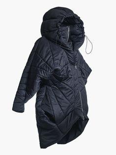 Hooded Jacket With Double Zipper • HANA ZARUBOVA