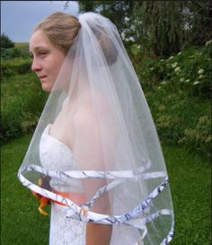 Cheap 2016 Hot Sale White Camo Bridal Veils Two Layer Realtree Camo Wedding Veils With Comb Elbow Length Brides Veil Bubble Veil From Rencontre, $12.61| Dhgate.Com