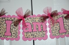 Items similar to Cheetah Print, Happy Birthday Banner, Birthday Party, Animal Print Theme and Hot Pink color on Etsy Leopard Birthday Parties, Cheetah Birthday, Cheetah Party, Minnie Birthday, 6th Birthday Parties, Ciara Birthday, 2nd Birthday Photos, Baby Girl 1st Birthday, Birthday Ideas
