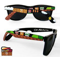 Super Mario Bros Sunglasses on Global Geek News.