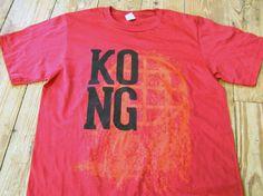 KONG Worldwide t-shirt! New design. http://kongscreenprinting.bigcartel.com $20.