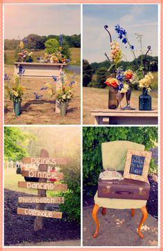 A Rustic Southern Wedding / Ruche Blog