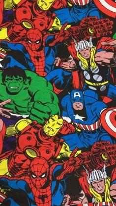 Marvel Comics Superheroes, Marvel Art, Marvel Heroes, Marvel Characters, Marvel Avengers, Avengers Wallpaper, Hero Wallpaper, Cartoon Wallpaper, Comic Books Art