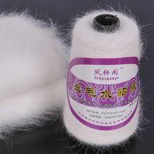100% кашемир норка yarns 500 g мех норка свитер пальто шарф ручная вязка пряжа 500 g за мешок 2 / 16NM(China (Mainland))