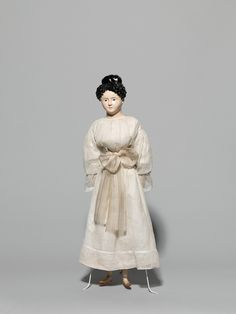 Wooden doll, Germany,1830