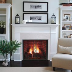 "Marquis Clear View Direct Vent Signature Command Fireplace - 44"" ($4,736) 