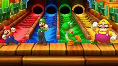 Mario Party 9 - Step It Up (Free-for-All Minigames) - YouTube
