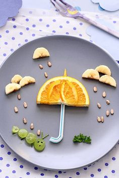 11 Food Art Ideas That Make Mealtime Fun via @PureWow