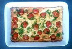 Clafoutis tomate cerise et féta