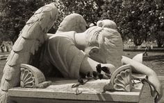 The Weeping Angel - Columbus, Mississippi