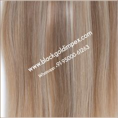 Get longer, fuller hair than ever before with Black Gold Impex. High-quality, luxurious, 100% Remy Human hair extensions at an unbeatable price.