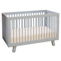 Babyletto Hudson Convertible Crib Grey @Layla Grayce