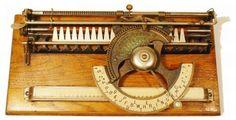 Bonitas Maquinas de Escribir Antiguas, completa Coleccion de Arte Mecanico ...   Todo Interesante