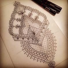 Sketching some more traditional mehndi designs for next weeks appointments. #tattoodesign #tattoo #design #drawing #sketch #art #mehndi #mehnditattoo #henna #mehendi #blackndark #iblackwork #onlyblackart #penandink #handdrawn #domholmestattoo