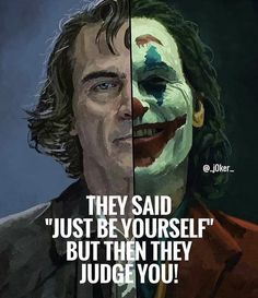 Joker has been voted as one of the greatest villains of superhero movies. Joker quotes are highly recommended to give you motivation forever! Joker Qoutes, Best Joker Quotes, Badass Quotes, Joker Meme, Joker Joker, Leto Joker, Funny Joker, Wise Quotes, Movie Quotes
