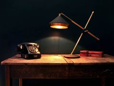 This Shear Desk Lamp is a highly functional task lamp with styling inspiration taken from the 1930s.