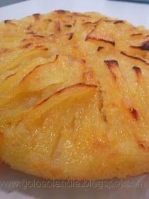 Tarta rápida de manzana