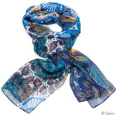 Light on weight but full of bright color and lively pattern, this crinkle poly…