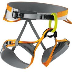 Edelrid Creed Harness - Easy Glider buckle at the waist for a secure and comfortable fit. | at www.weighmyrack.com/ #rock #climbing #gear