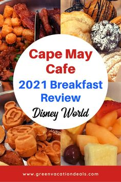 Find out why our family loves the Cape May Cafe breakfast buffet at the Beach Club at Walt Disney World! We think the 2021 version is even better than the Disney character option. Plus, check out our experiences in our dining review. Check out photos of the breakfast options (like Mickey waffles, French toast, etc), what we liked & what we didn't like. Get tips on how to plan your day & even how to save money on your next Disney World trip in Orlando Florida. Where to eat on a Disney vacation. Walt Disney World Vacations, Disney Resorts, Orlando Resorts, Orlando Florida, Cape May Cafe, Disney World With Toddlers, Disney World Planning, Breakfast Options, Disney World Tips And Tricks