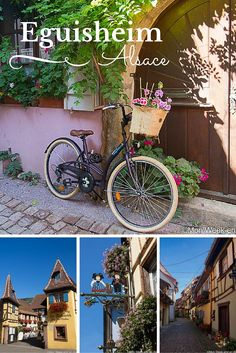 Visit of Eguisheim, a lovely village on the Wine Route of Alsace
