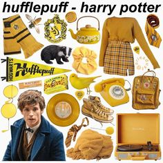 Mode Harry Potter, Harry Potter Style, Harry Potter Outfits, Harry Potter Facts, Hufflepuff Wallpaper, Hufflepuff Students, Styles Harry, Hufflepuff Pride, Ravenclaw