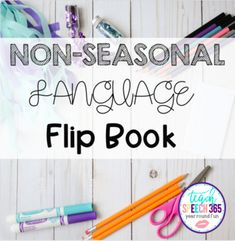 Non-Seasonal Language Flip Book Preposition Activities, Free Activities, Grammar Skills, Teaching Grammar, Wh Questions, This Or That Questions, Story Retell, Context Clues, Prepositions
